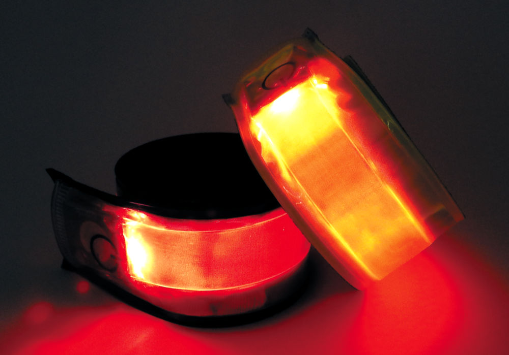 Opaska odblaskowa z LED