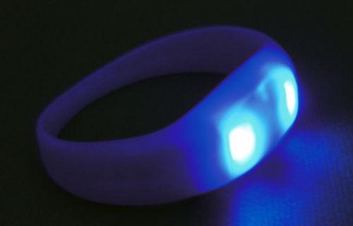 Opaski świecące LED