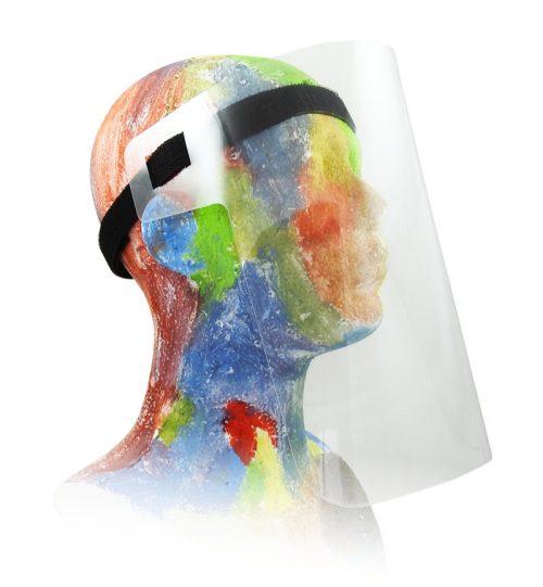 Przyłubica ochronna na twarz