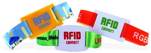 Opaski na rękę RFID slider
