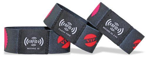 Opaski na rękę RFID rubber band